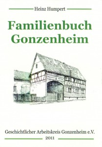 Titelblatt Familienbuch Gonzenheim