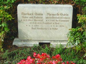 Grab Eberhard Quirin